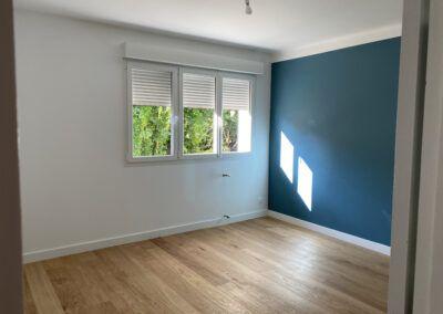 Peinture chambre mur et plafond