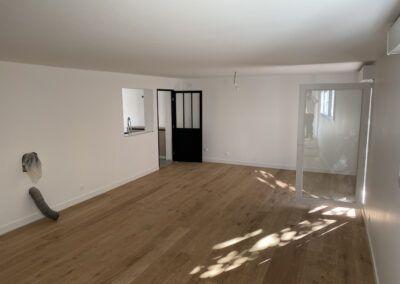 Rénovation d'une pièce à vivre à Toulouse