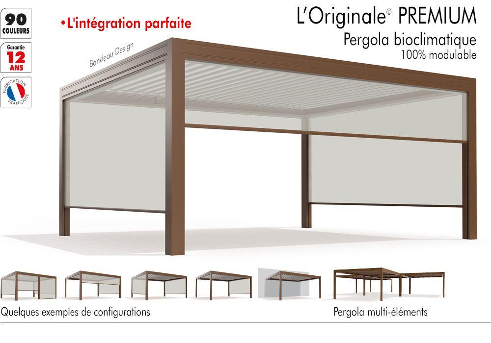 Pergola bioclimatique à Toulouse