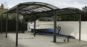 Carport en aluminium à Toulouse