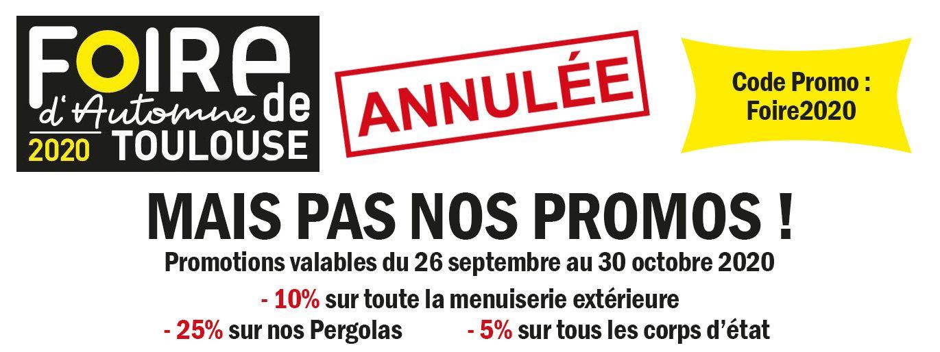 Promotions foire de Toulouse