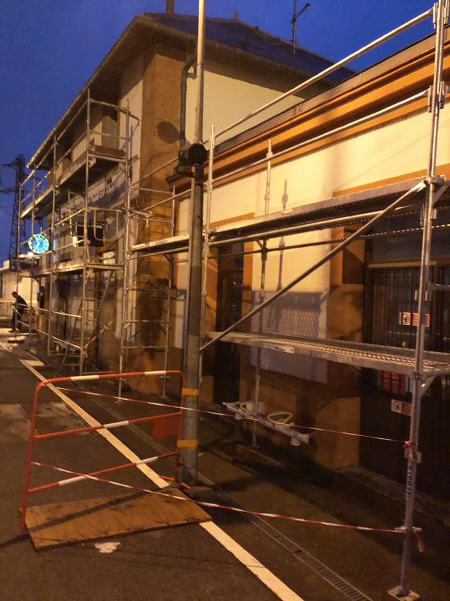 Chantier gare de Toulouse Matabiau Ravalement de façade