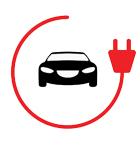 Bornes de recharge de voitures électriques pour parking et pour flottes